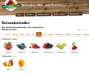 Alemania Temporada Alimentos Comer