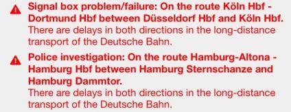 Las rutas entre Colonia y Düsseldorf